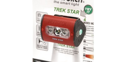 NEXTORCH TREK STAR HEADLAMP ROSSA