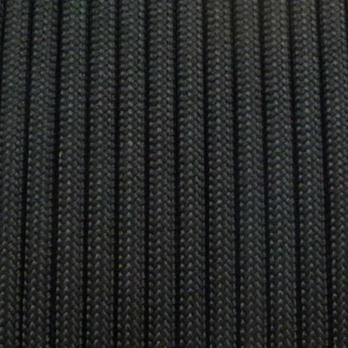 Paracord 550 NERO 30 MT